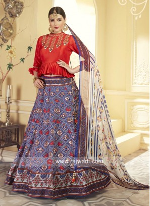 Traditional Sangeet Choli Suit