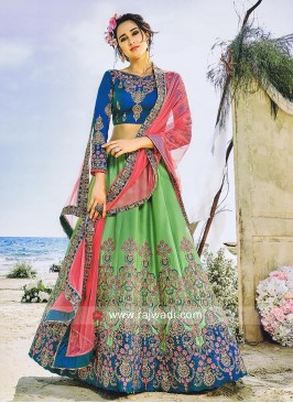 Traditional Shaded Lehenga Choli