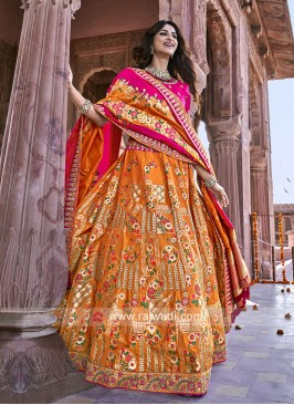 Traditional Silk Heavy Lehenga Choli