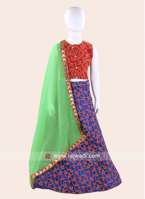 Traditional Stitched Chaniya Choli for Garba