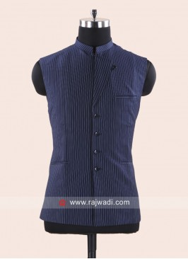Traditional Terry Cotton Nehru Jacket