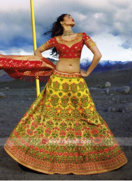Traditional Unstitched Lehenga Choli