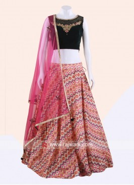 Traditional Wedding Lehenga Set