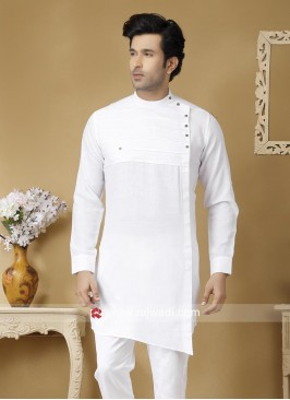 Traditional White Color Kurta