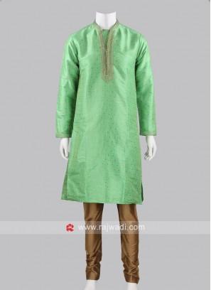 Traditional Zari Work Kurta Pajama