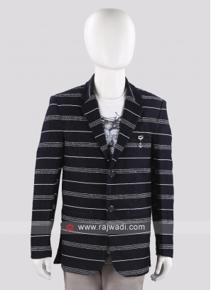 Trendy Lining Blazer For Boys