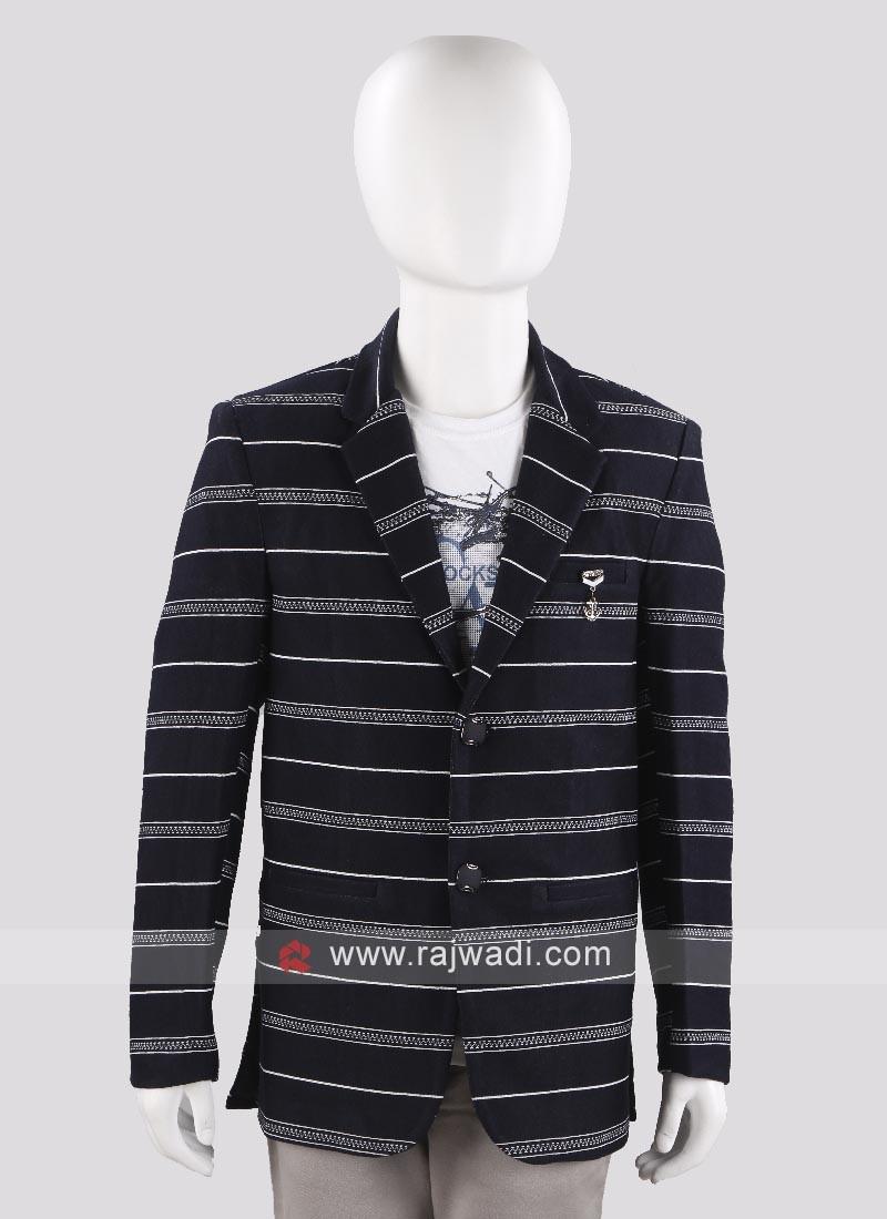 Trendy Lining Blazer For Boys