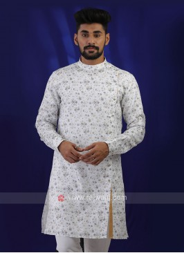 Trendy Off-white Color Kurta