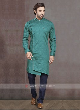 Cotton Printed Kurta Pajama