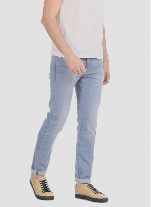 U.S.POLO Men Blue Regallo Skinny Fit Stretchable Stone Wash Jeans