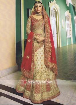 Unstitched Designer Bridal Lehenga