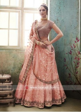 Unstitched designer Lehenga Choli