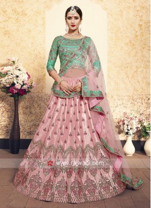 Wedding Embroidered Lehenga Set