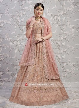 Unstitched Georgette Lehenga Choli