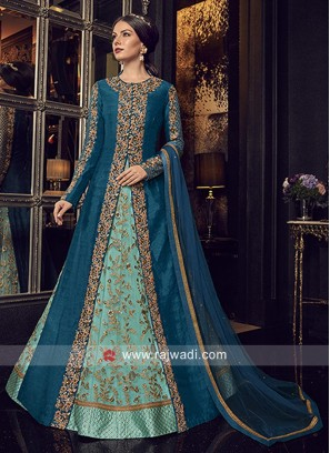 Unstitched Heavy Salwar Kameez