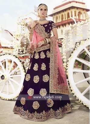 Unstitched Heavy Work Lehenga Choli