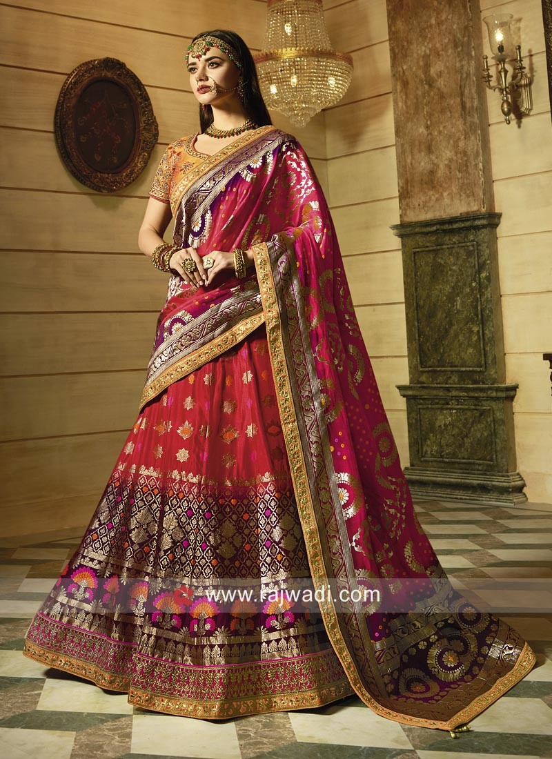 9f811a7352 Embroidered Lehenga Choli for Wedding. Hover to zoom
