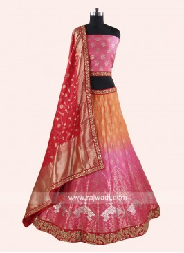 Shaded Designer Lehenga Choli