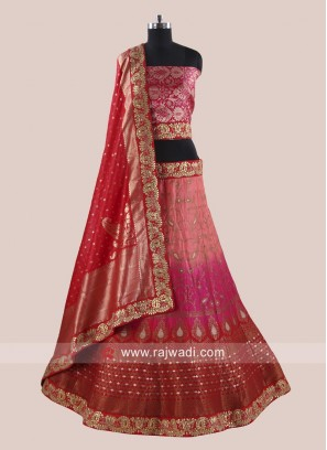 Designer Shaded Wedding Lehenga