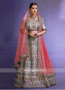Unstitched Wedding Lehenga Choli