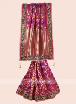 Uppada Silk Saree with Silk Blouse
