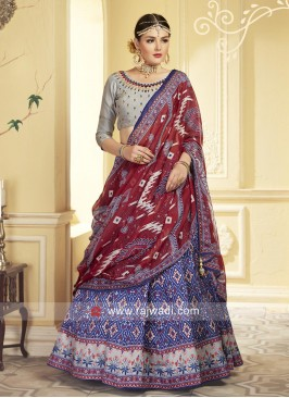 Uppada Silk Wedding Lehenga Choli