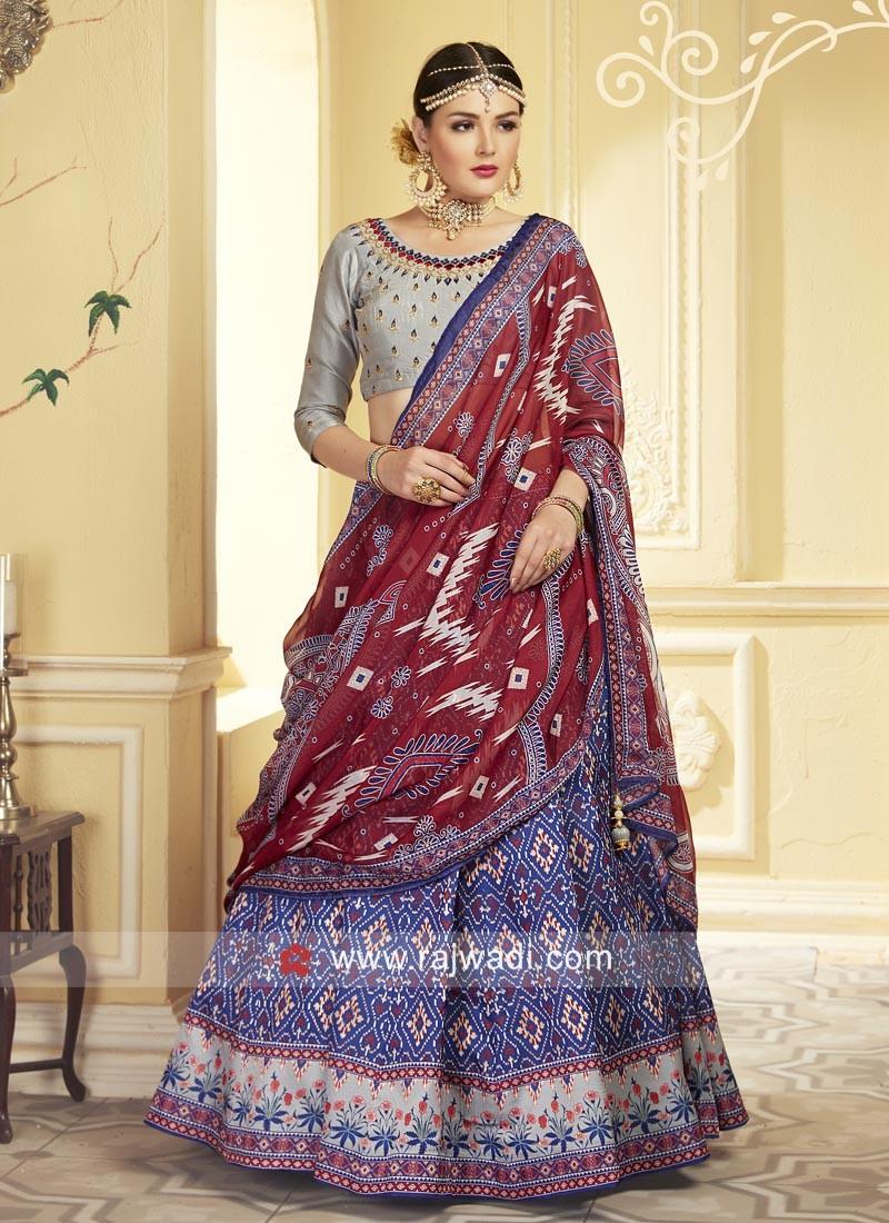 Uppada Silk Wedding Lehenga Choli