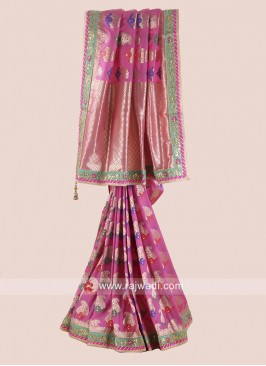 Uppada Silk Wedding Saree
