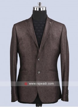 Van Heusen Attractive Silk Fabric Slim Fit Blazer