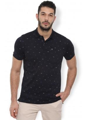 Van Heusen Black T Shirt