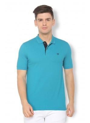 Van Heusen Blue T-Shirt