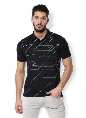 Van Heusen Navy T-Shirt