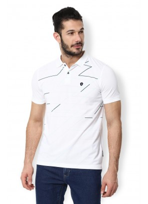 Van Heusen White T-Shirt
