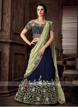 Velvet Designer lehenga Choli with Dupatta