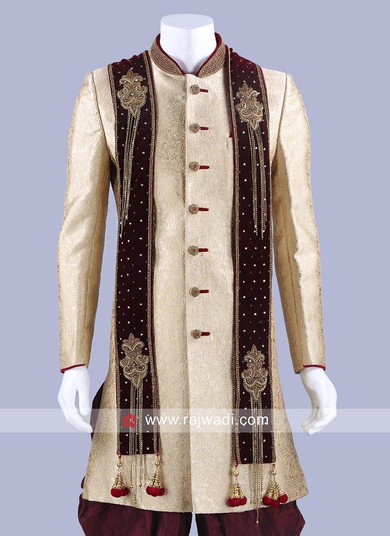 Velvet Fabric Dupatta With Designer Patch
