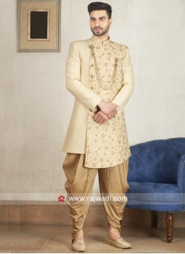 Beautiful Cream Indo Western