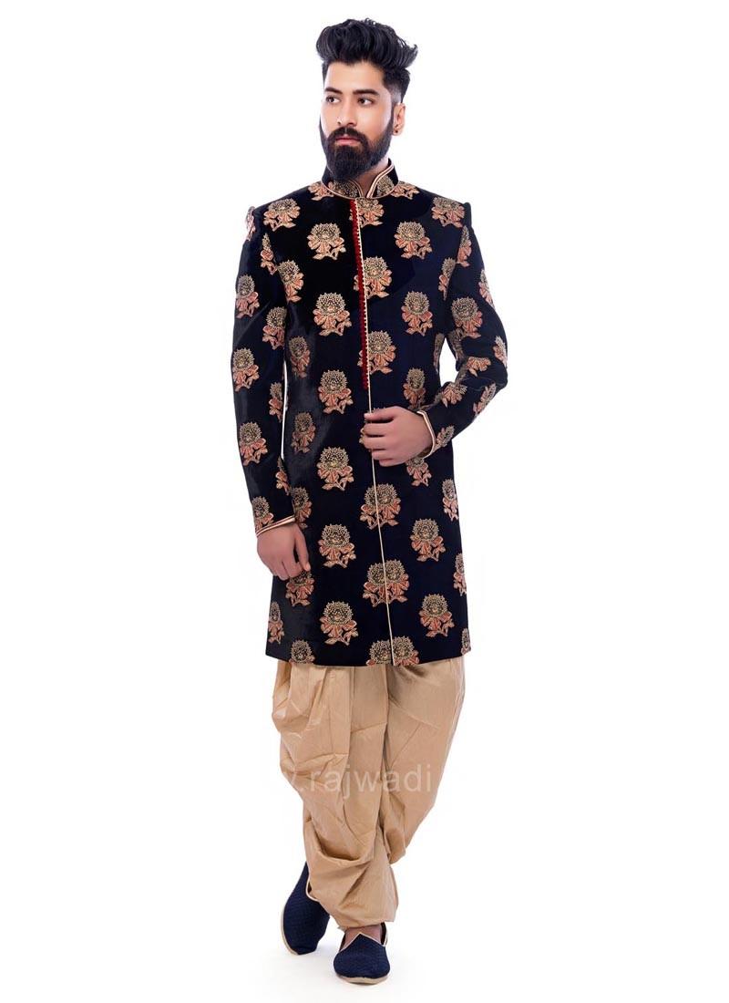 Velvet Fabric Indo Western