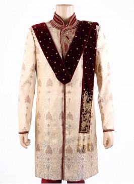 Velvet Mens Dupatta with Latkan