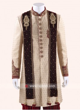 Velvet Wedding Men Dupatta