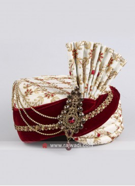 Charming Wedding Turban