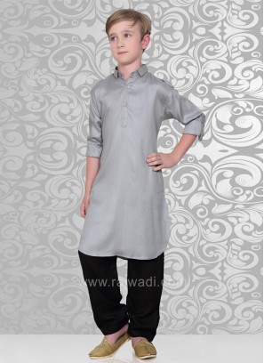 Voile fabric Party Wear Pathani Suit