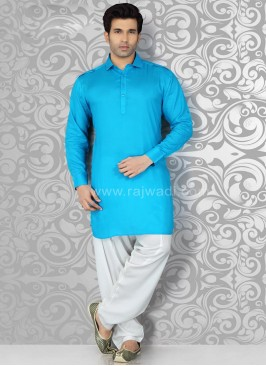 Voile Fabric Pathani Suit