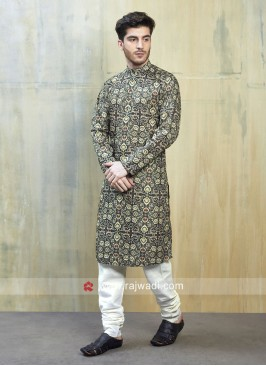 Multi Color Kurta Set