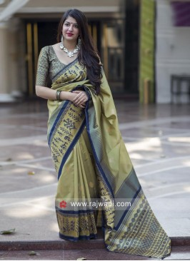 Weaving Designer Saree with Blouse
