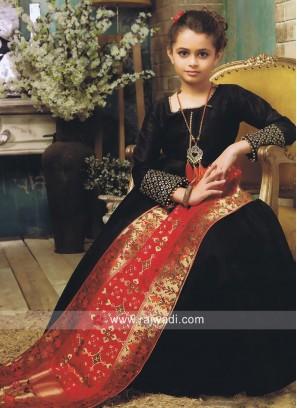 Wedding Anarkali Suit for Kids