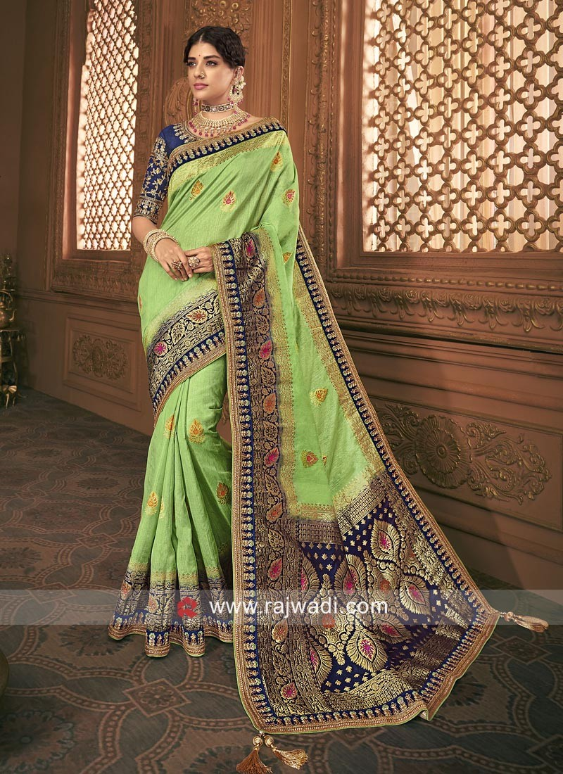 Wedding Banarasi Silk Heavy Saree