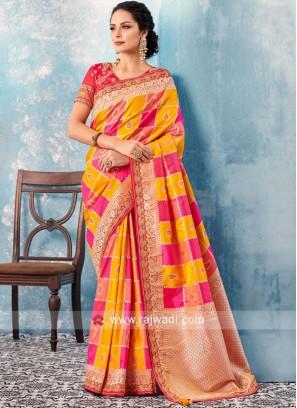 Wedding Banarasi Silk Saree