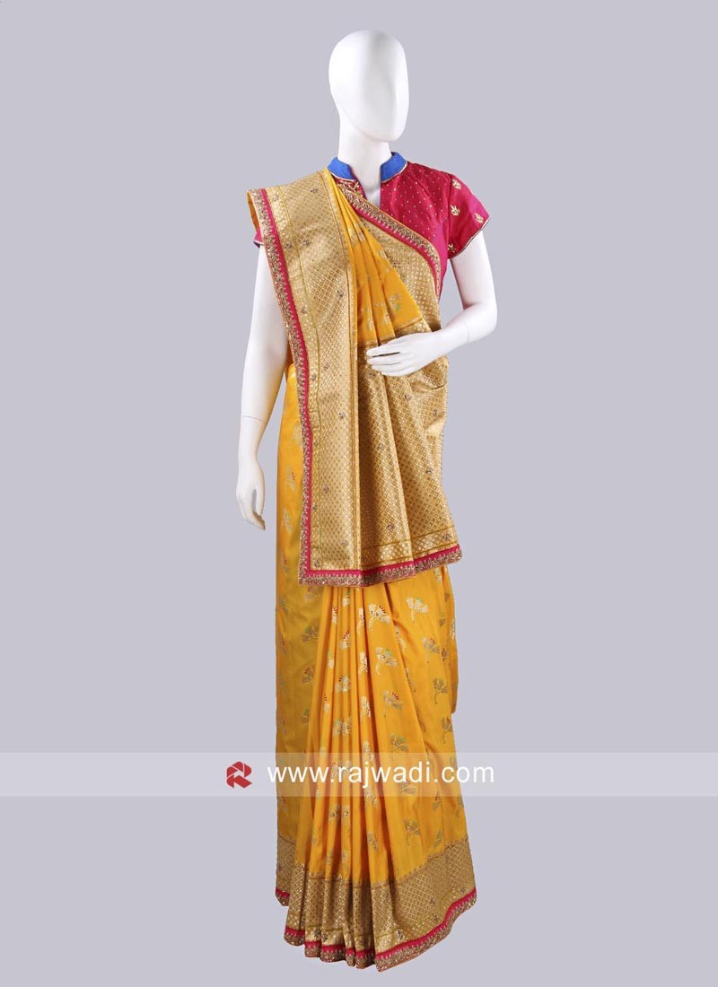 Wedding Banarasi Silk Saree