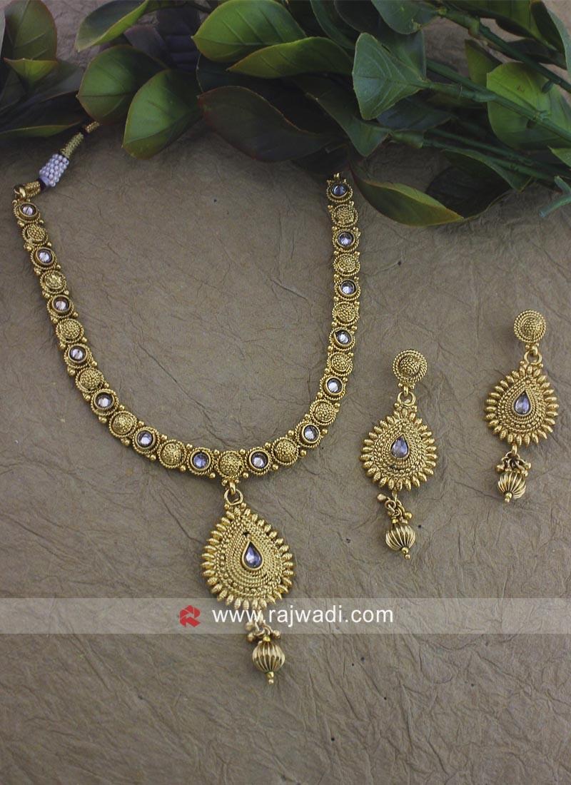 Wedding Copper Necklace Set