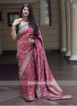 Wedding Designer Banarasi Silk Saree